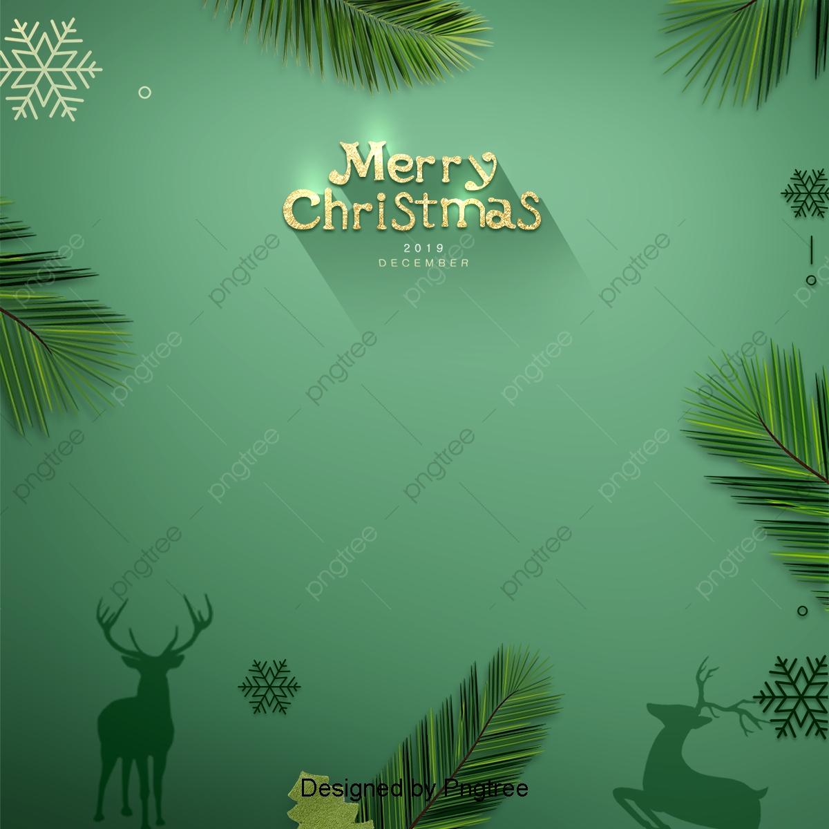 Regali Di Natale Romantici.Il Giorno Di Natale Romantico Sullo Sfondo Verde Natale Regali Di