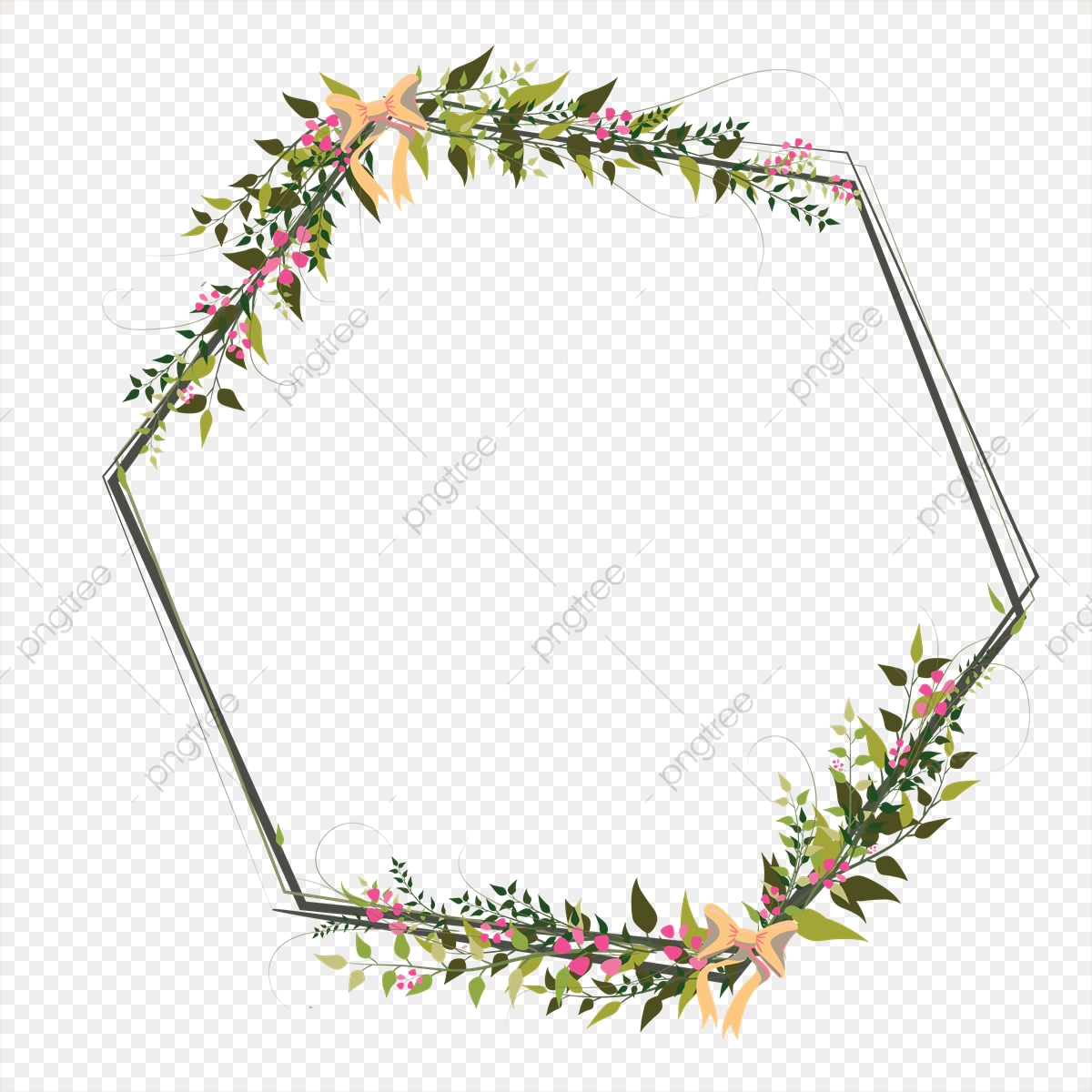 Floral Border Png Images Vector And Psd Files Free Download On