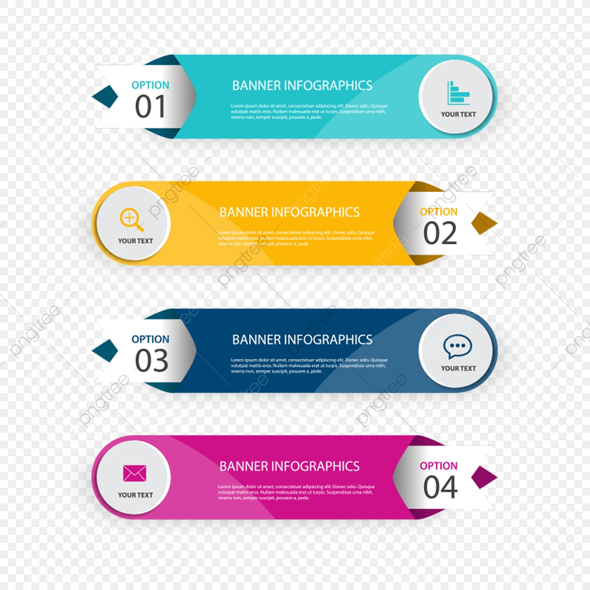 Paper Infographic Banners, Infographics, Infographic