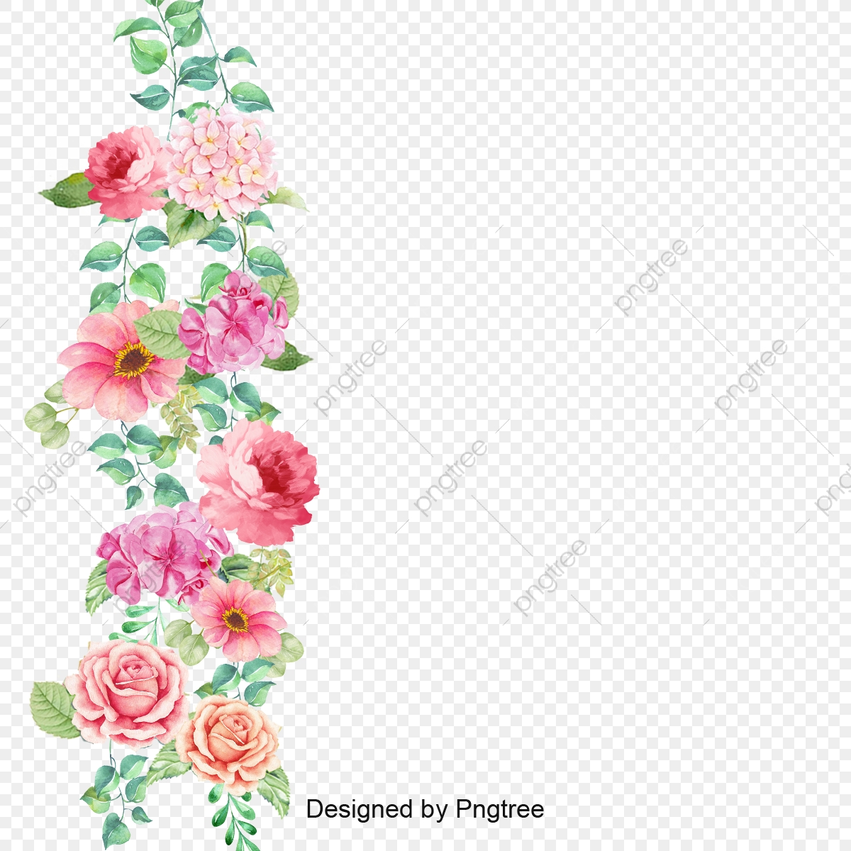 flower border vector flower pansy background png transparent clipart image and psd file for free download https pngtree com freepng flower border vector 3552632 html
