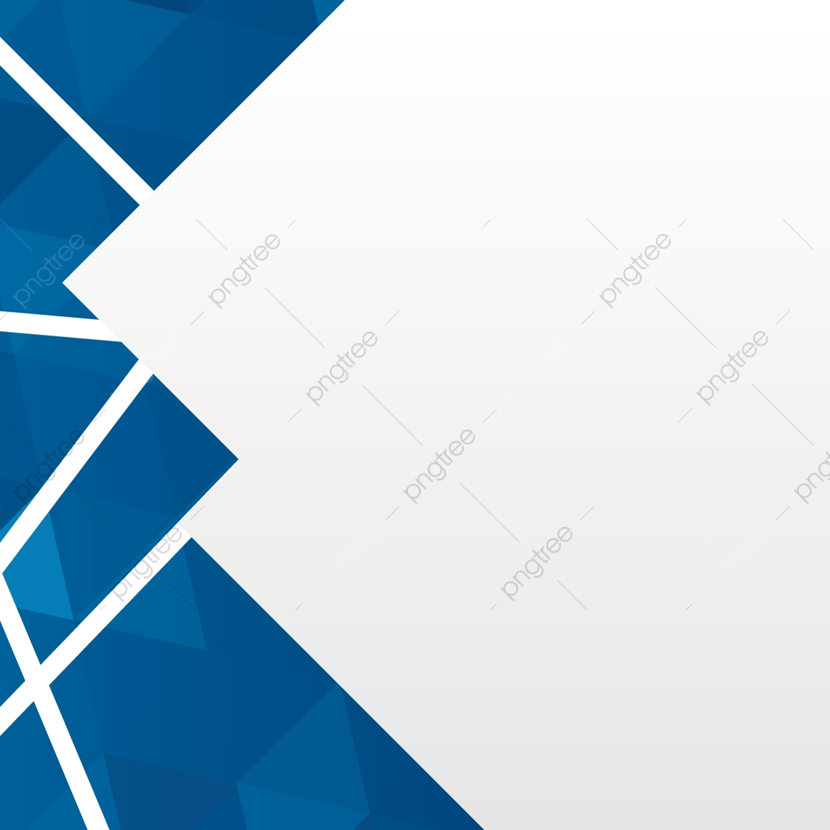 Geometric Backgrounc With Blue Polygons Vector, Azure