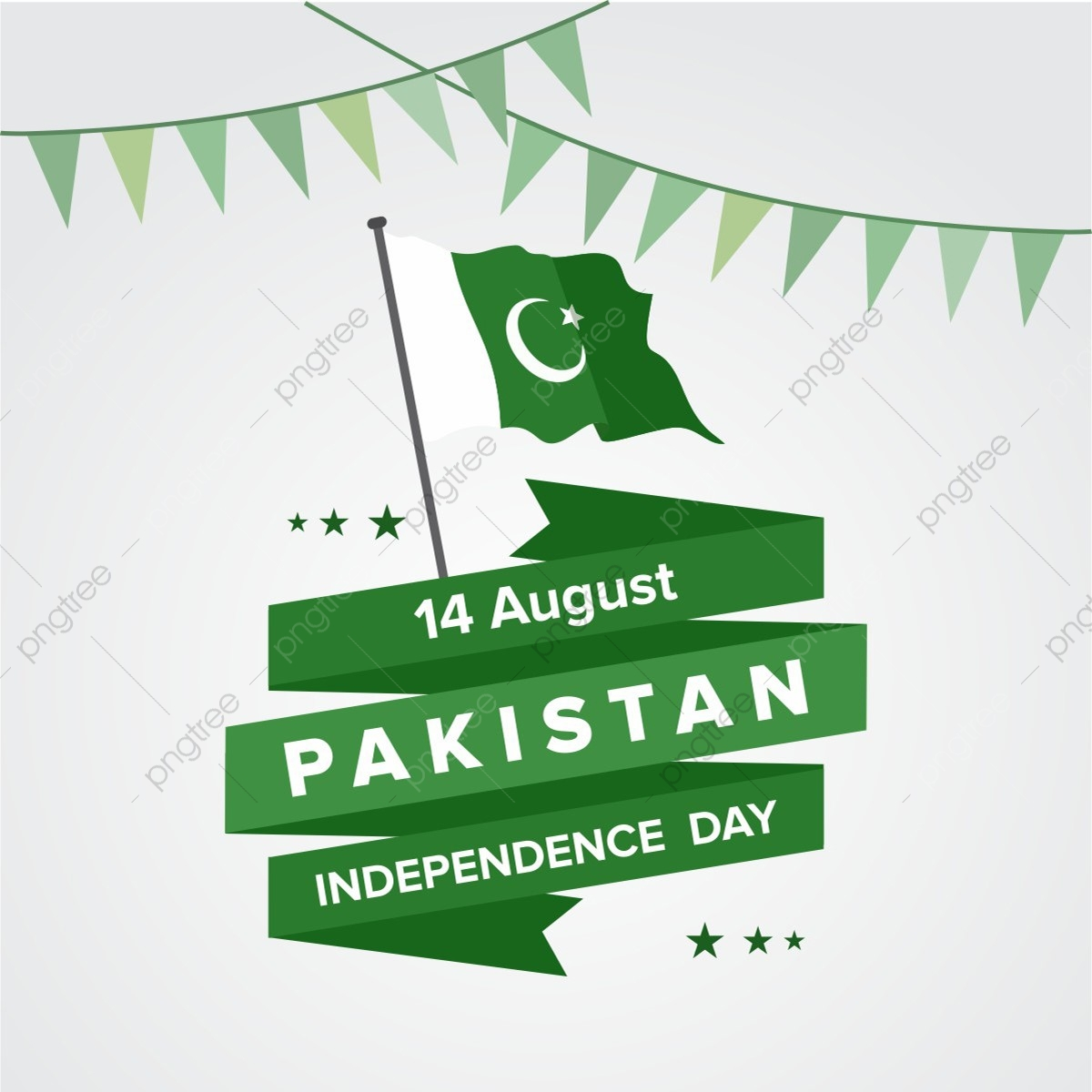 Happy Independence Day 14 August Pakistan Greeting Card Pakistan August 14 Png And Vector With Transparent Background For Free Download