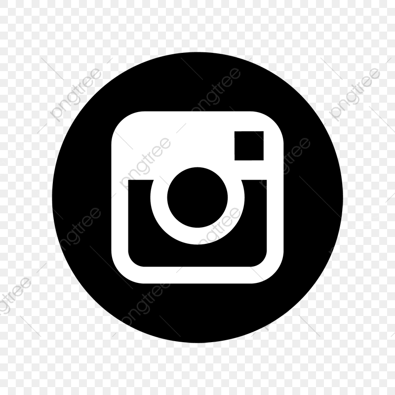 Instagram Black White Icon Instagram Icons Black Icons White Icons Png And Vector With Transparent Background For Free Download