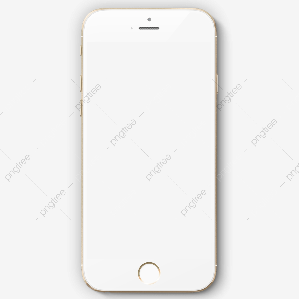 Iphone 8 Mockup Premium Mobile Phone Replenishing Png
