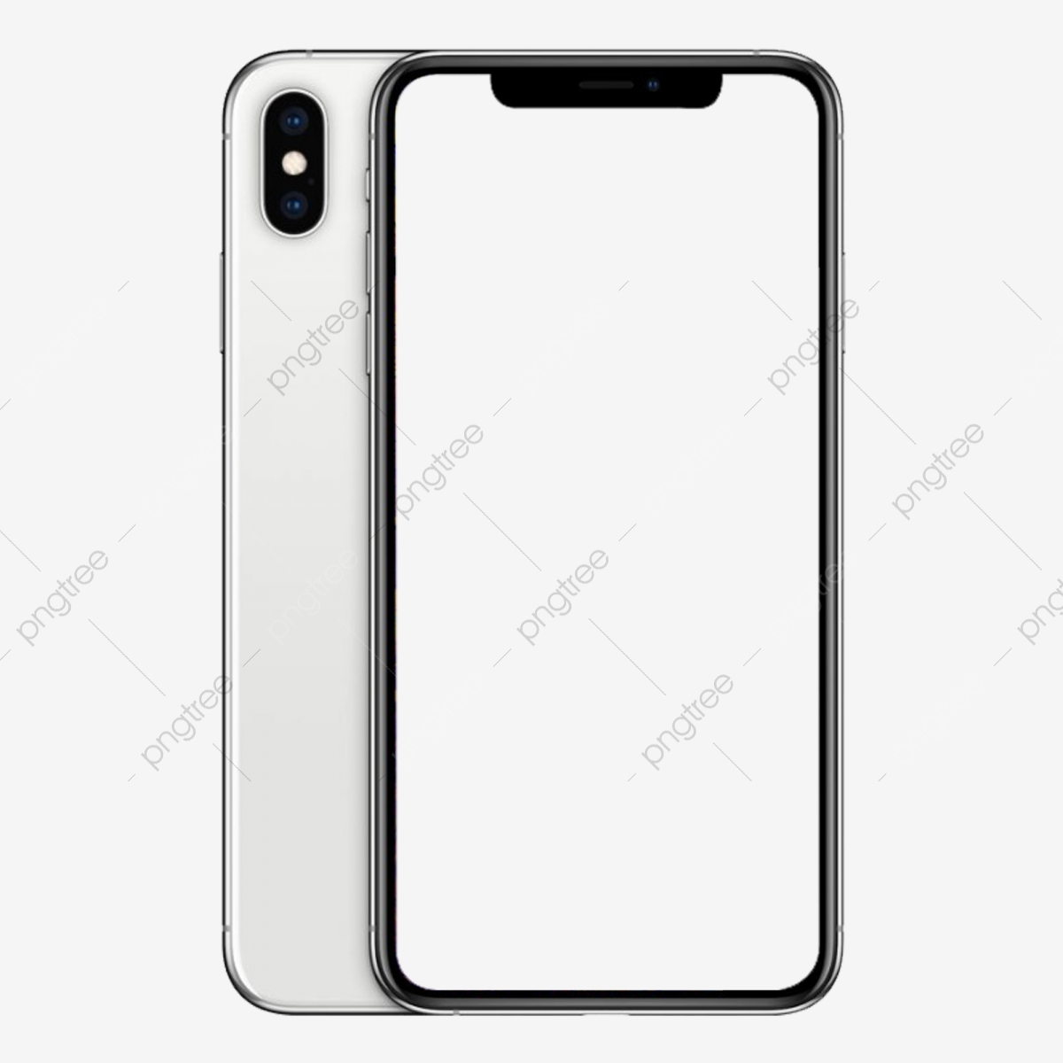 Modello Di Iphone Xs Bianco Mobile Telefono La Reintegrazione File