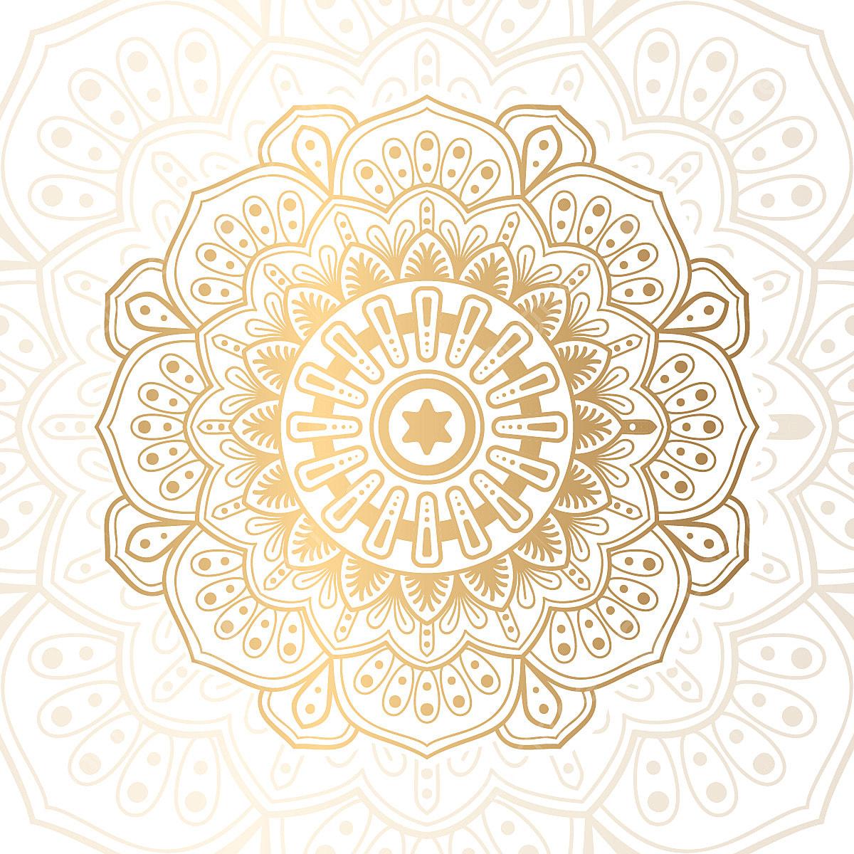 dise u00f1o de lujo mandala resumen la abstracci u00f3n  u00e1rabe png y