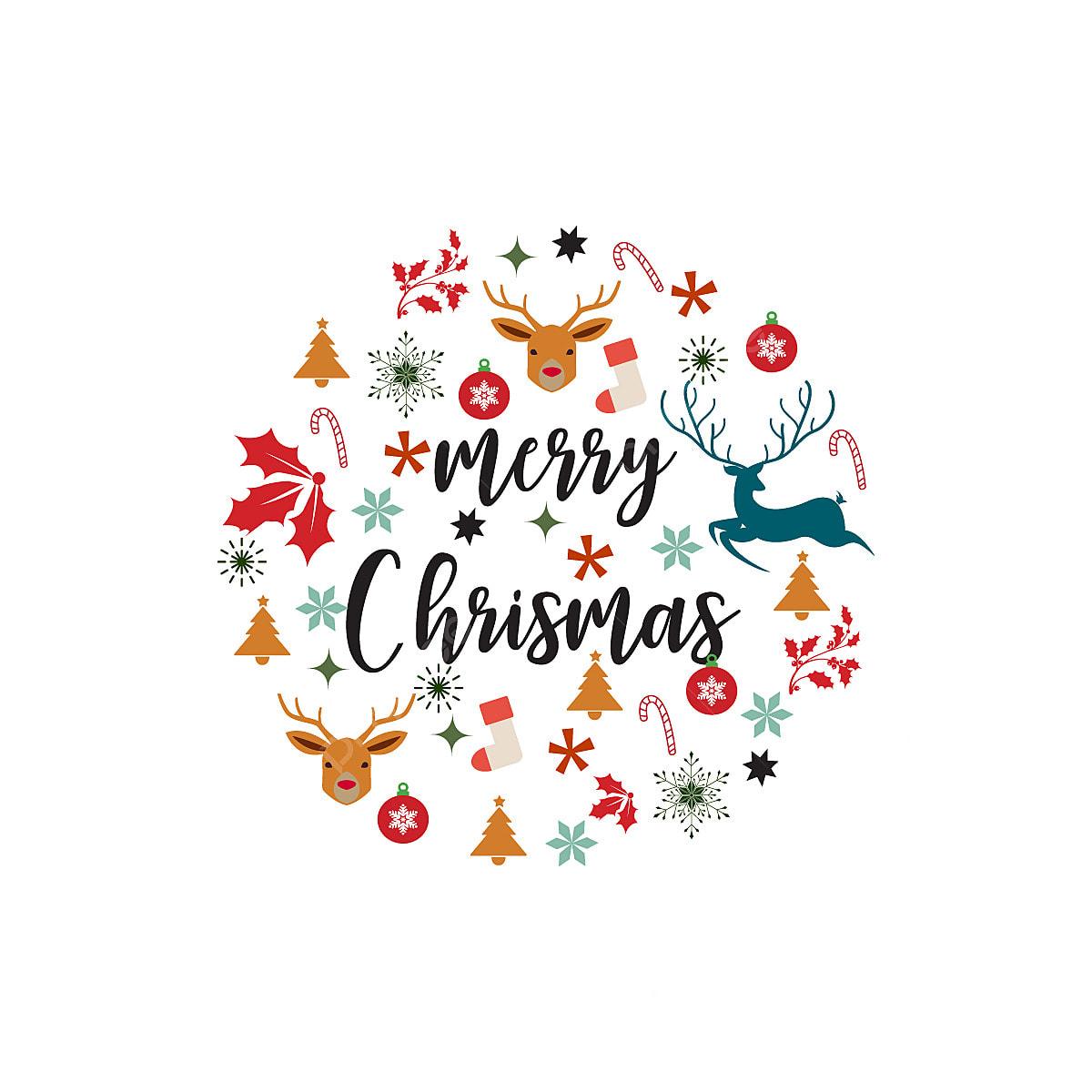メリークリスマスカードのデザイン クリスマス 背景 イラスト
