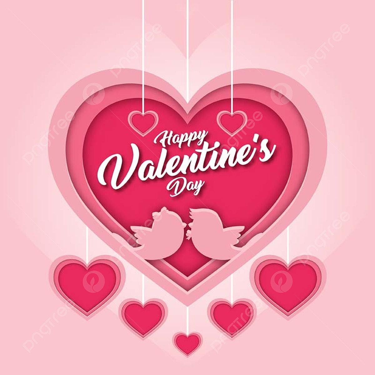 Moderne Romantische Liebe Die Gluckliche Valentinsgrusskarte Der
