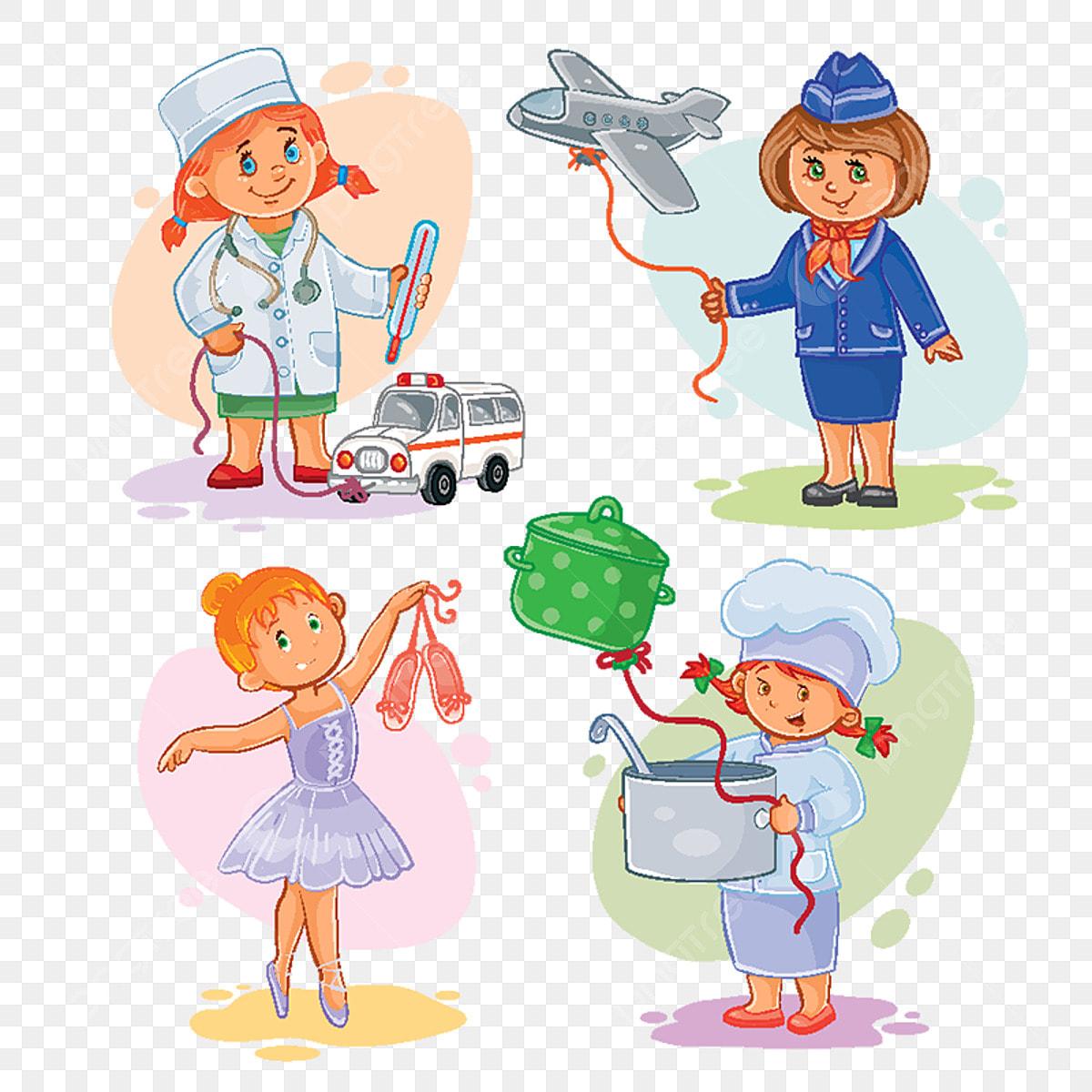 Открытки, профессии картинки для детей с надписями профессий