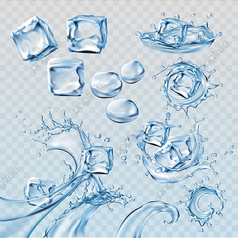 ice png vector psd and clipart with transparent background for free download pngtree https pngtree com freepng set vector illustrations water splashes and flows with ice cubes 3565675 html