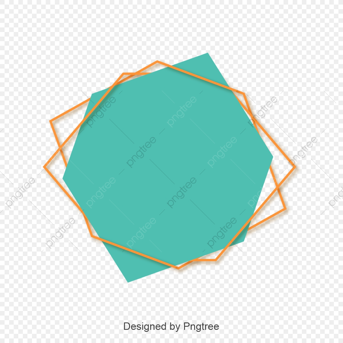 Simple Border, Blue, Vector Set PNG and Vector with Transparent