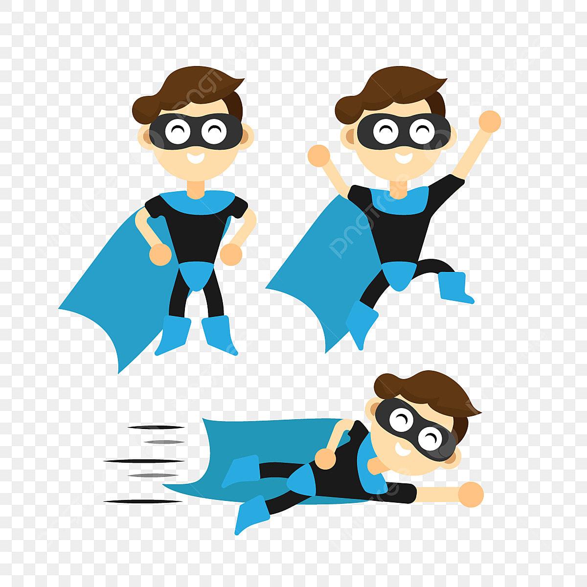 7ed4261408 Super Herói Menino Conjunto Crianças Desenho Crianças PNG e vetor ...