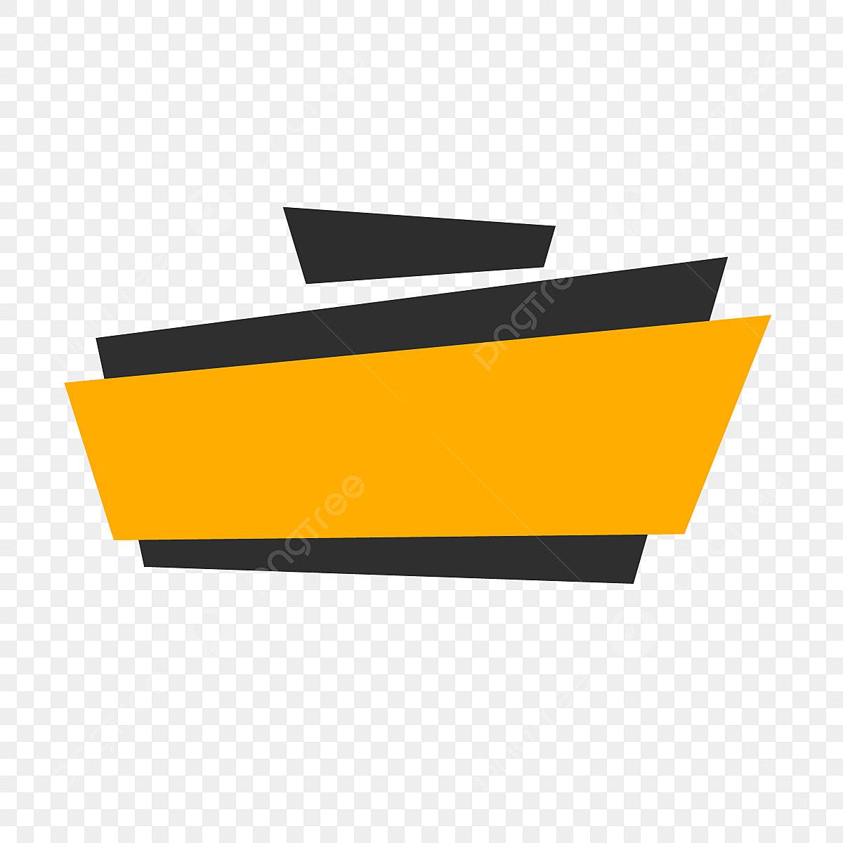 Banner vector. Text design color modern