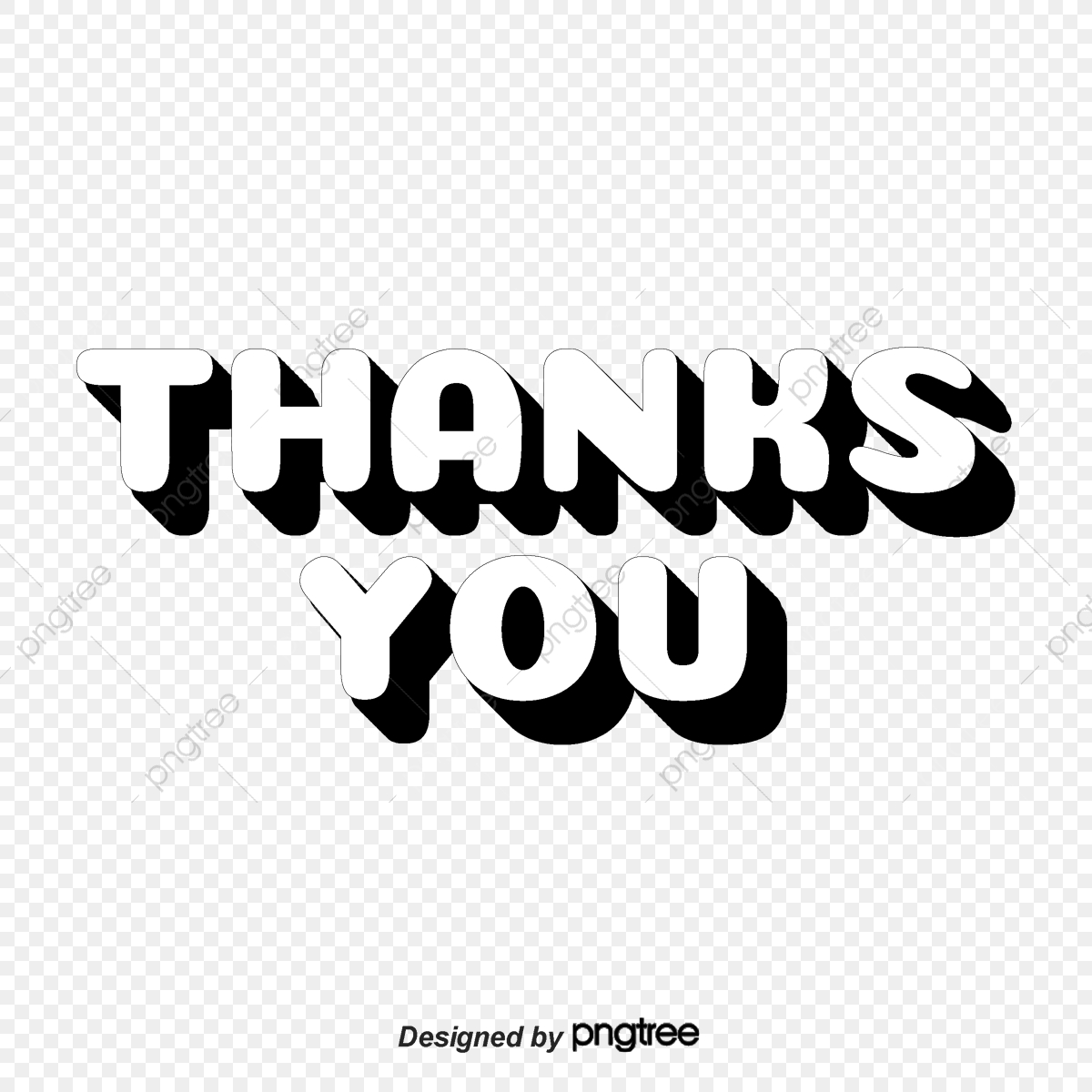 Thank You For Your Font Design Ppt Mapping Thank You Thumb Png