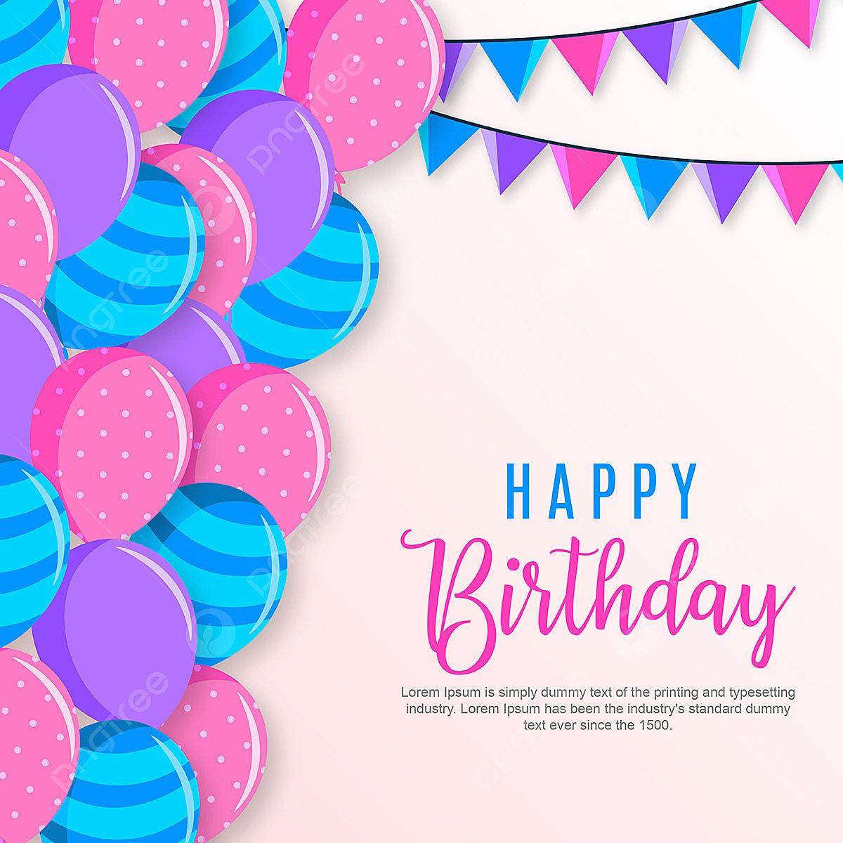 Vector Happy Birthday Background, Background, Wallpaper
