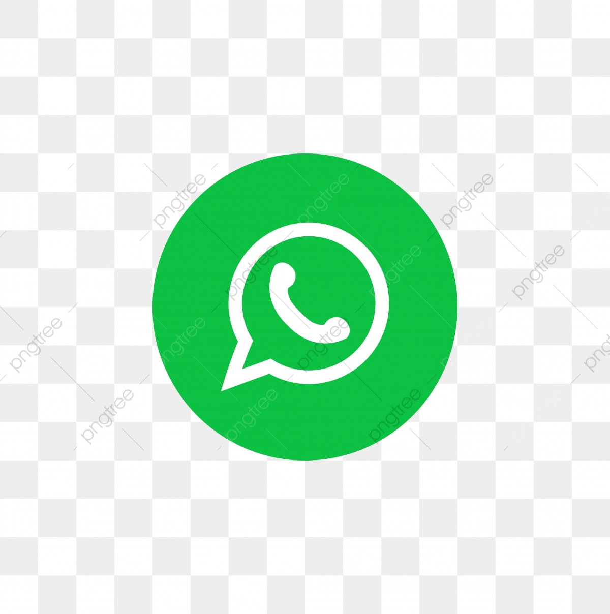 Whatsapp Social Media Icon Design Template Vector Whatsapp