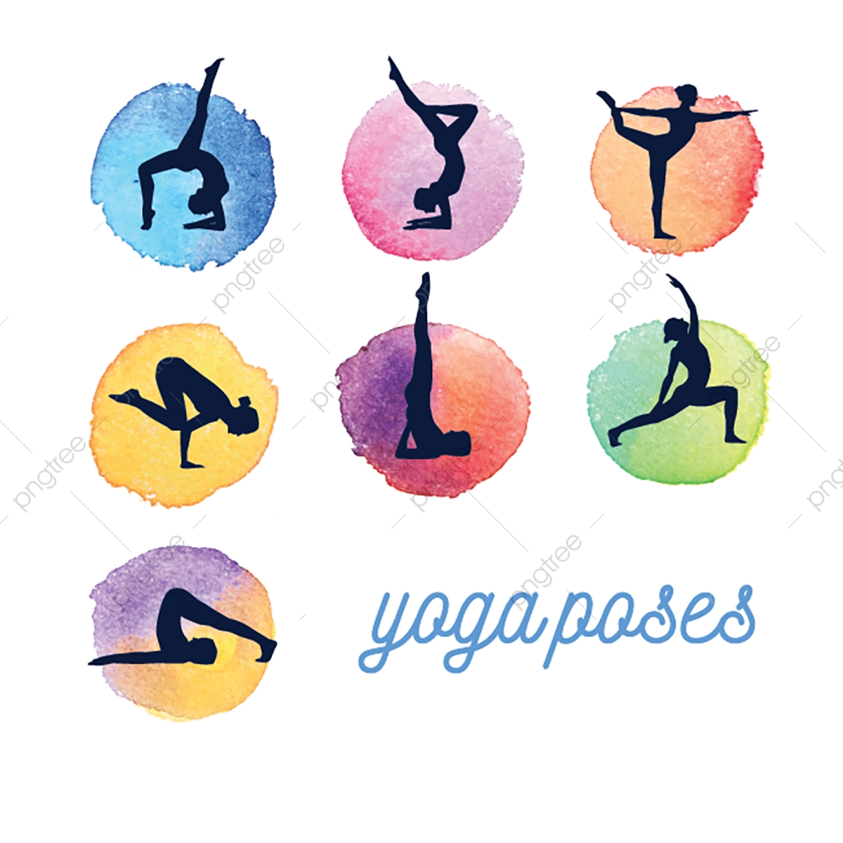 Yoga Poses Yoga Pose Yoga Vector Png And Vector With Transparent Background For Free Download