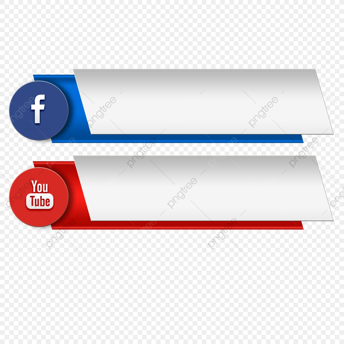 3d Icon Youtube Social Media Banner Page Channel Share