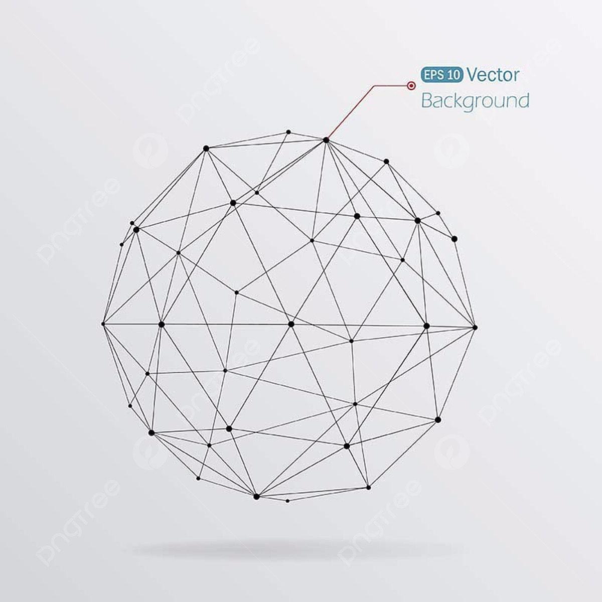 Abstrakte Geometrische Linie Kunst Design Abstract 3d Png