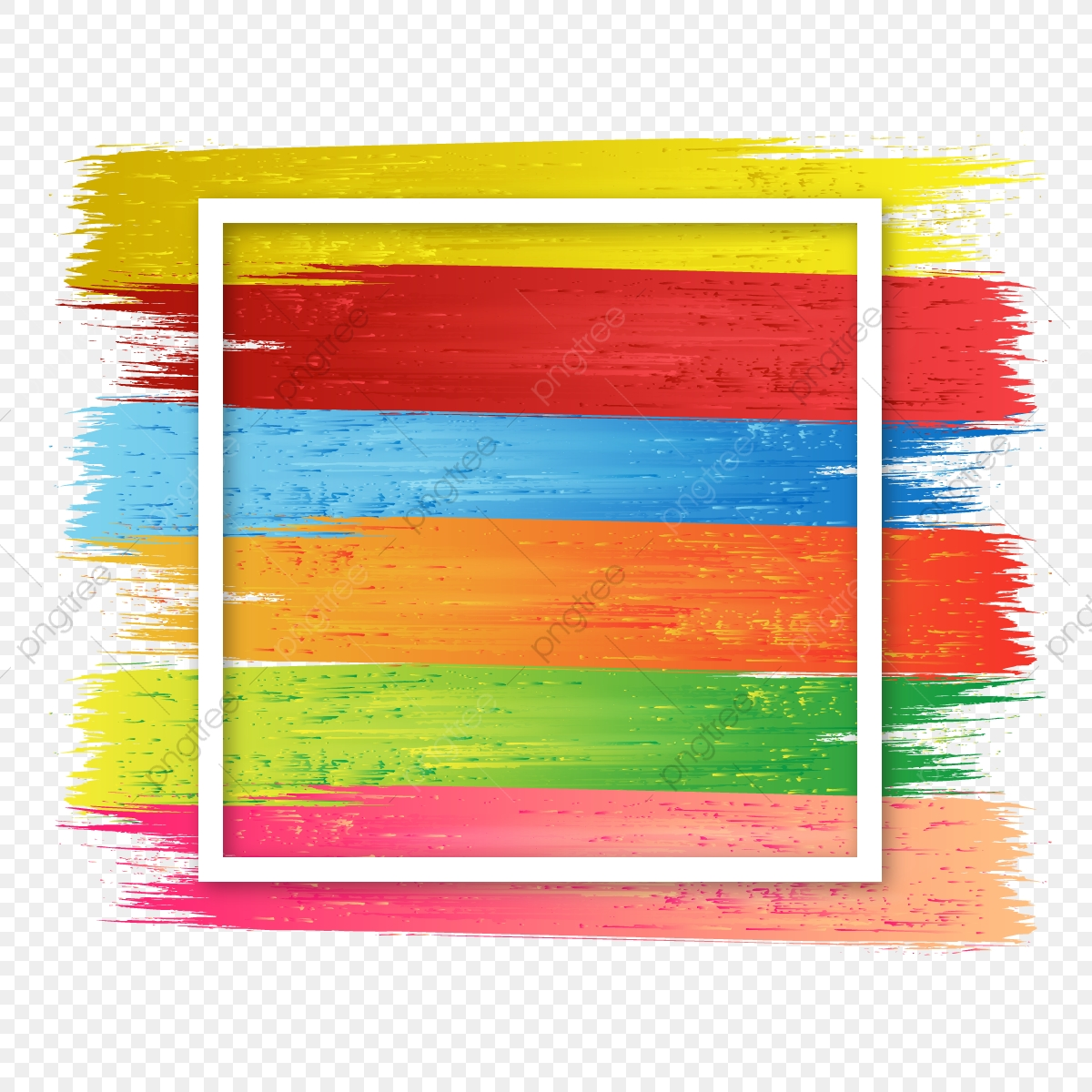 abstract stroke brush strips over the square frame brush effect brush stroke strip png and vector with transparent background for free download https pngtree com freepng abstract stroke brush strips over the square frame brush effect 3741589 html