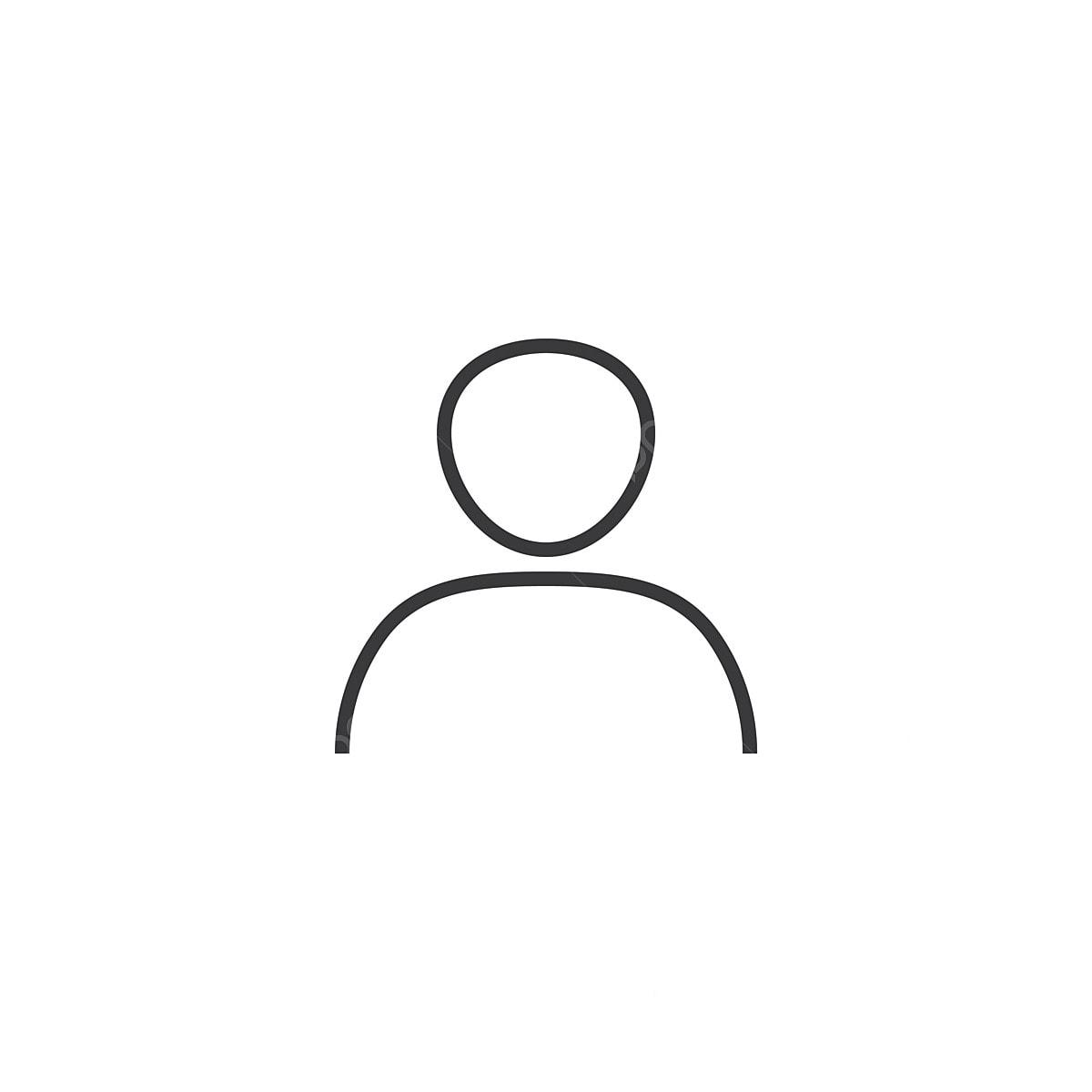Account Icon Line Style Vector Illustration, Logo, Icon