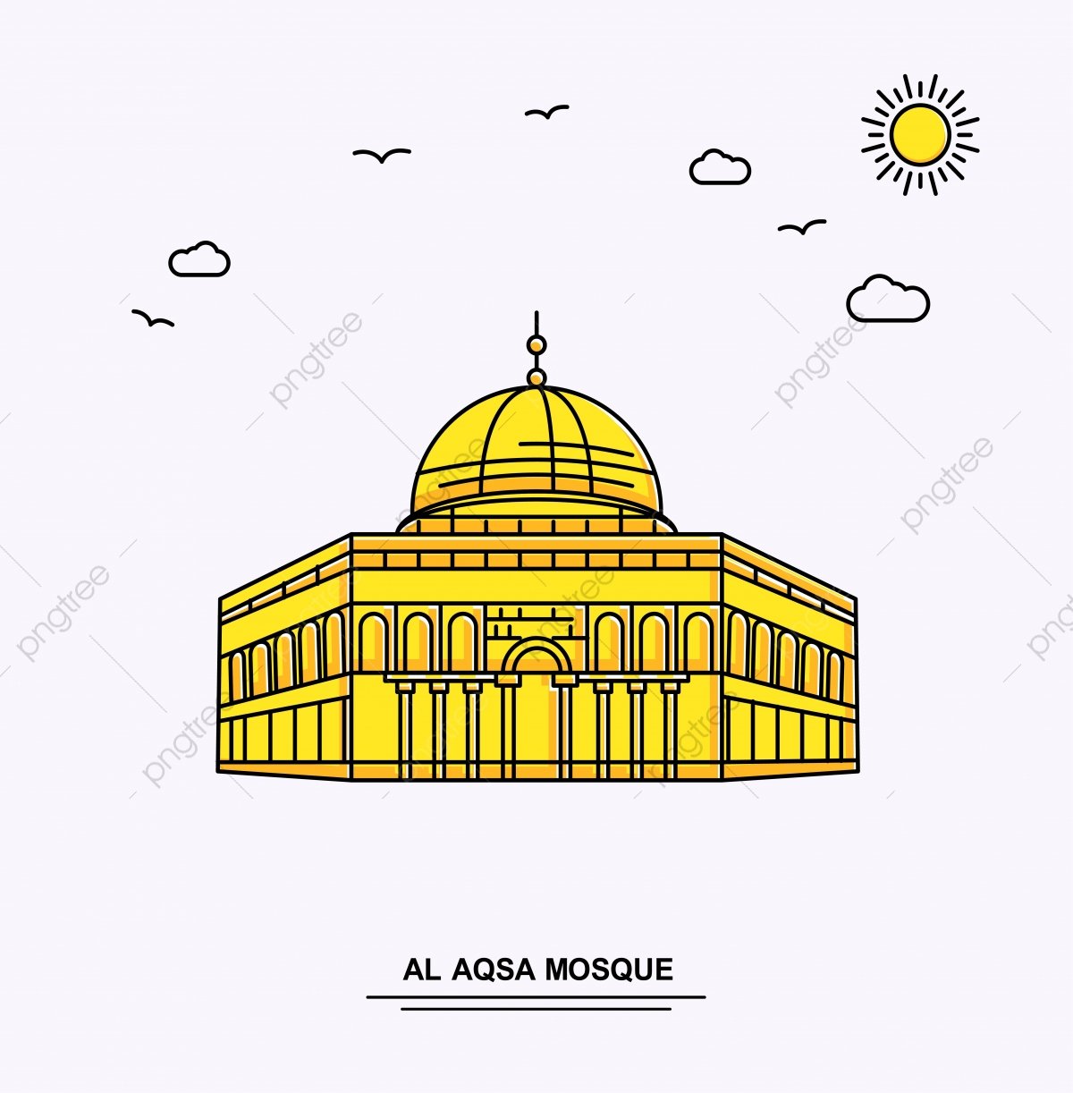Al Aqsa Mosque Png Vector Psd And Clipart With Transparent Background For Free Download Pngtree