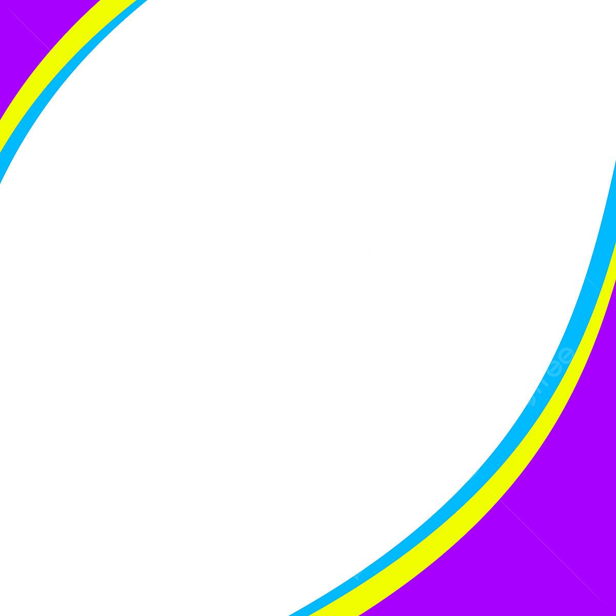 Background Material Design Of Color Border Frame, Color