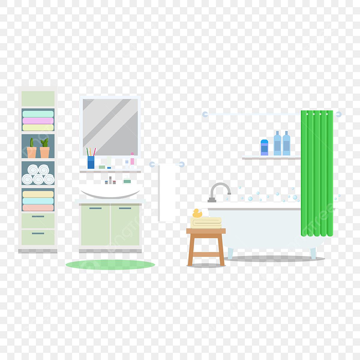 Dessin Salle De Bain salle de bain toilette de dessin animé salle de bain simple