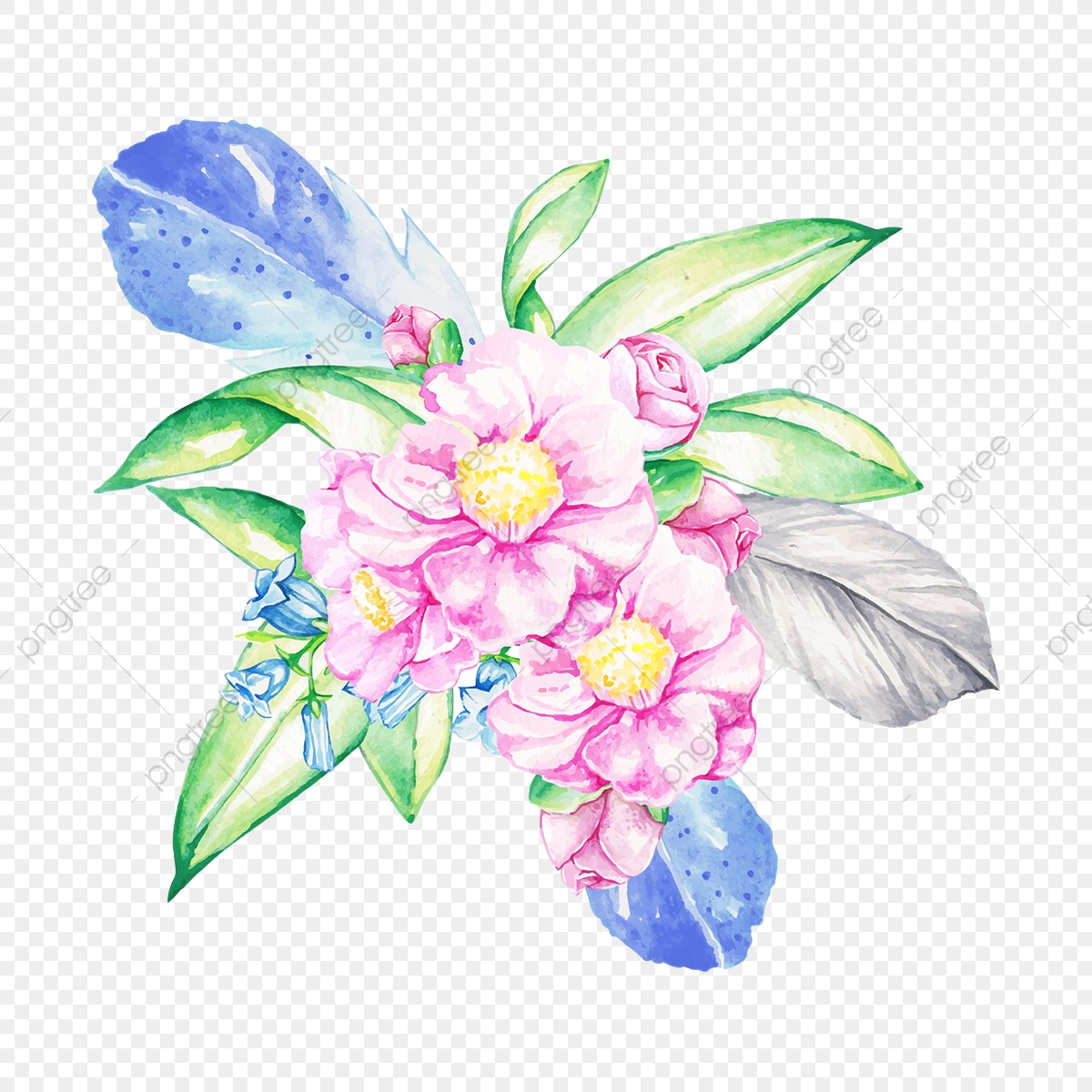 Beautiful Boho Bouquet Beautiful Flower Floral Png And Vector With Transparent Background For Free Download