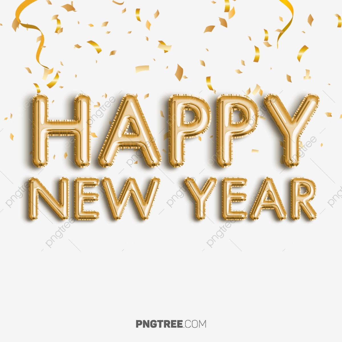 Happy New Year Text Png 68