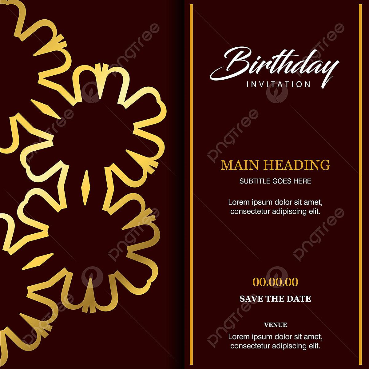 Birthday Card Design Vector Birthday Card Vector Cdr