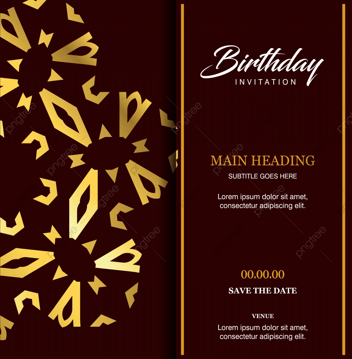 Birthday Card Design Vector Birthday Card Vector Template Birthday Card Vector Illustrator Birthday Card Ideas Png And Vector With Transparent Background For Free Download