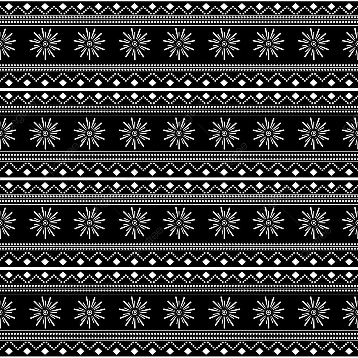batik hitam putih png vector psd and clipart with transparent background for free download pngtree https pngtree com freepng black and white tribal seamless pattern vector illustration with stripes drawing mandala stars batik motif 3995613 html