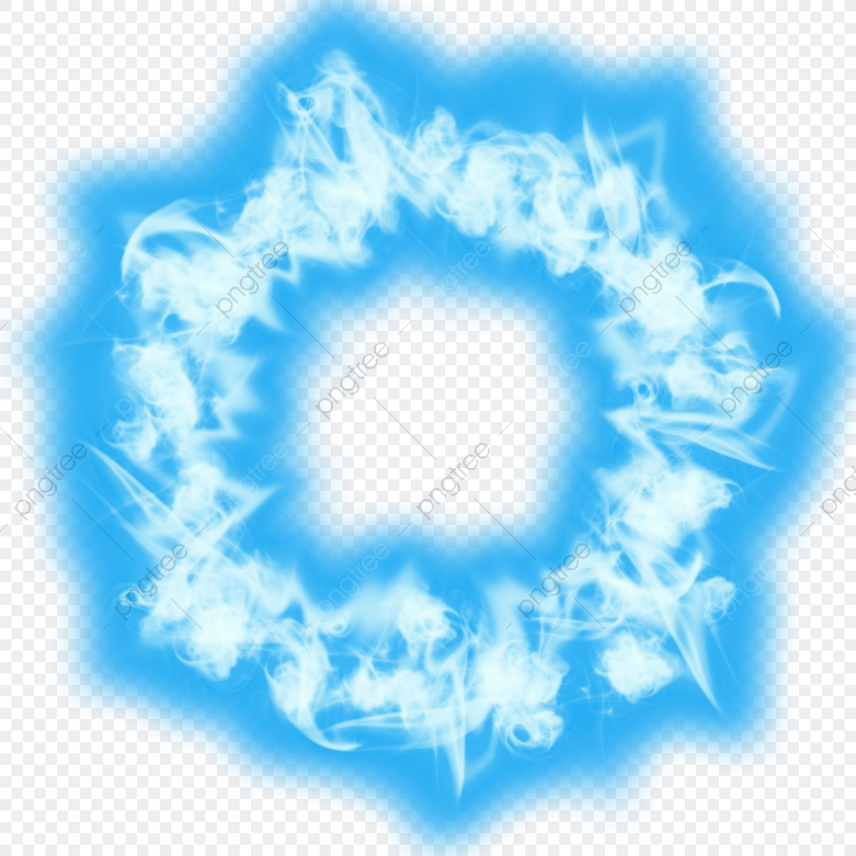 Blue Ring Of Fire, Ring Of Fire, Magic Effect, Speacial