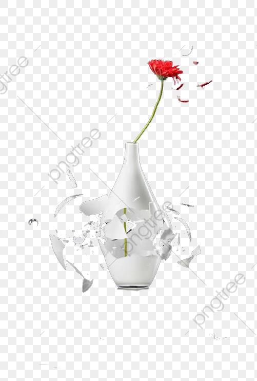 Lukisan Pasu Bunga Yang Pecah Kata Kata