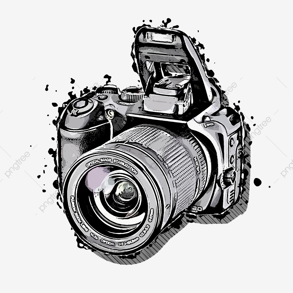 Camera Digital Cameraelectronic Photography Camera Slr Camera Png Transparent Clipart Image And Psd File For Free Download