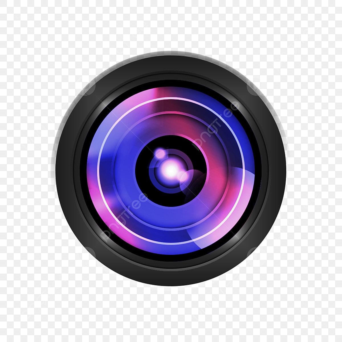 Camera lens icon vector png christmas