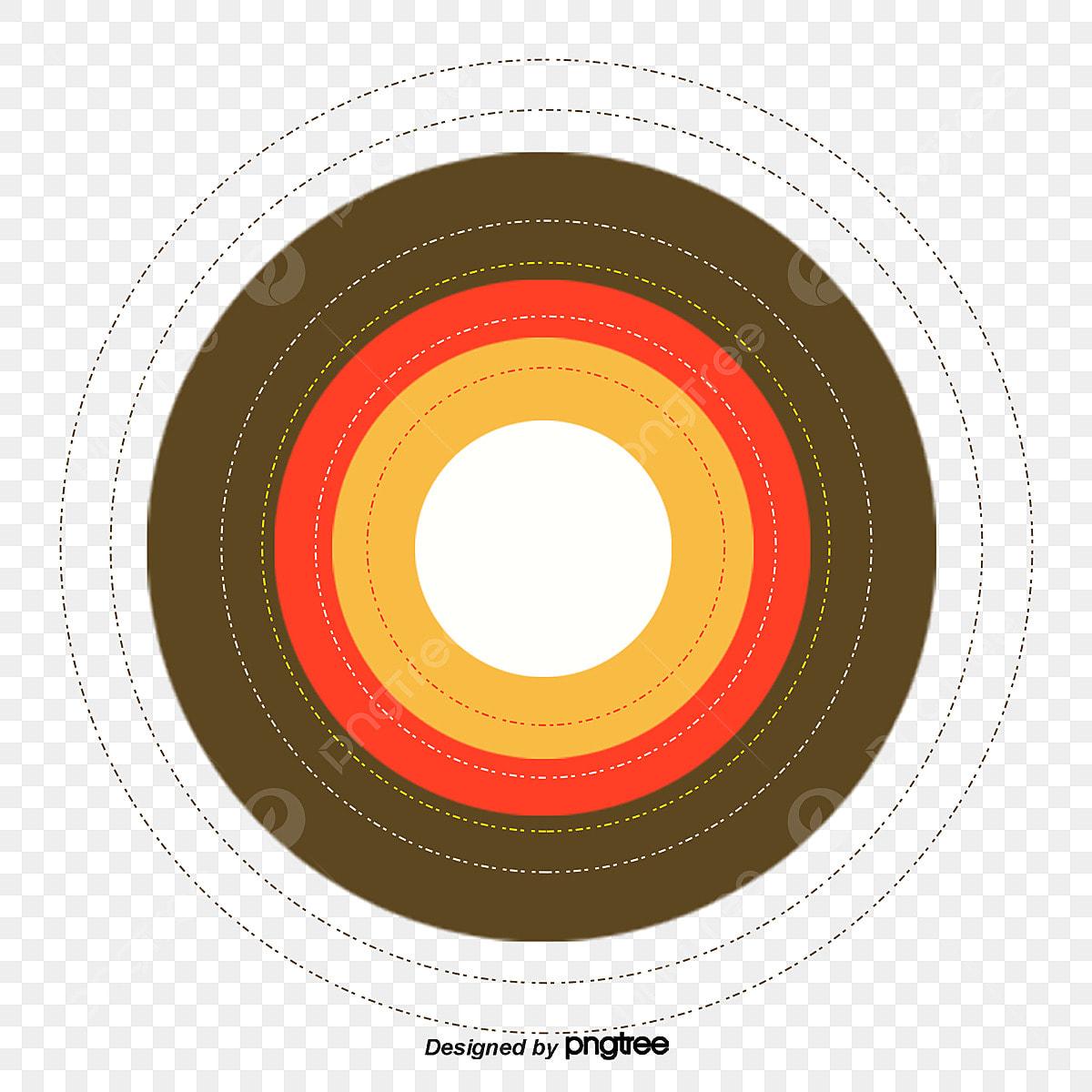Cartoon Disc Target, Military, Cartoon, Disk PNG Transparent