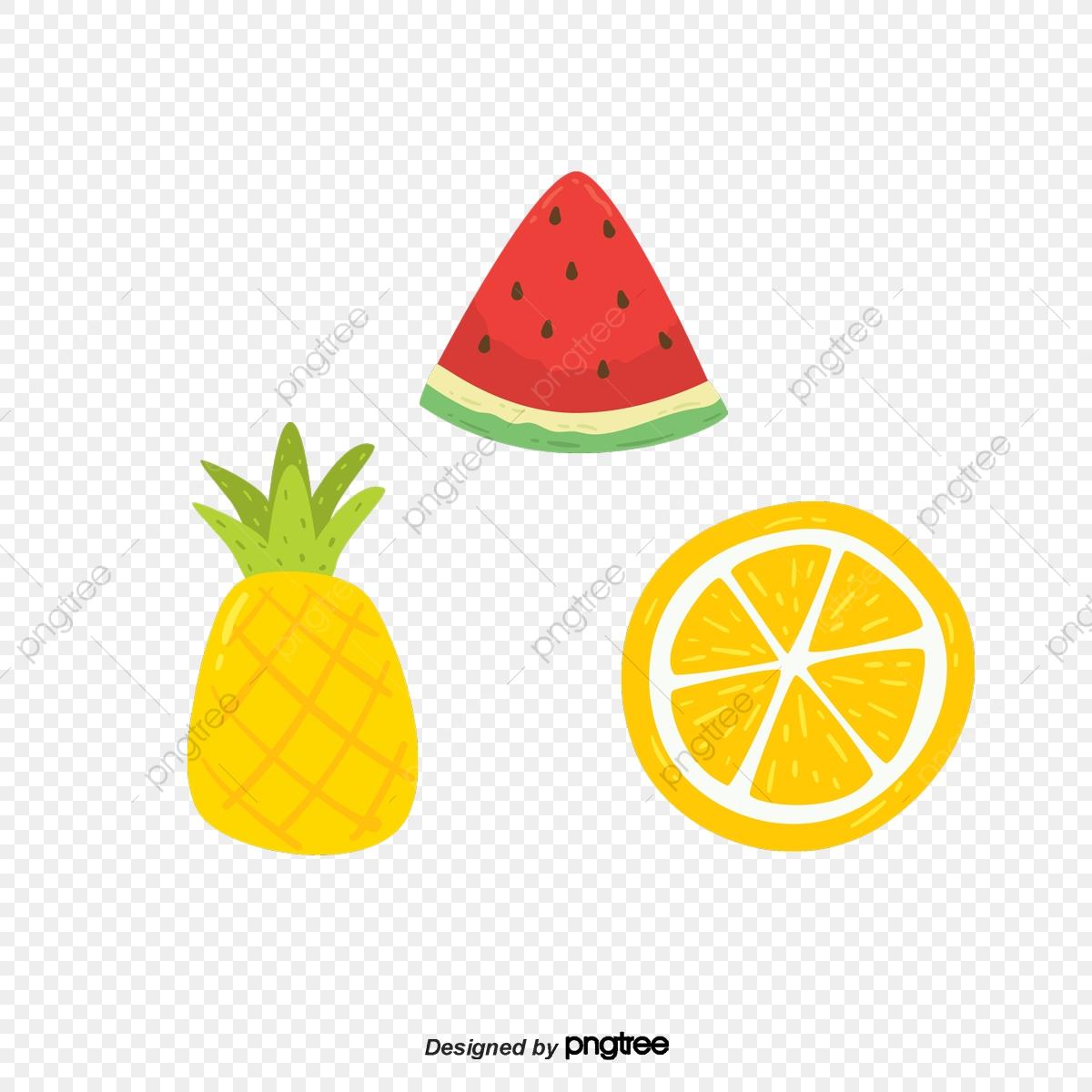 Desenhos De Frutas Cool Cartoon No Verao Arquivo Png E Psd Para