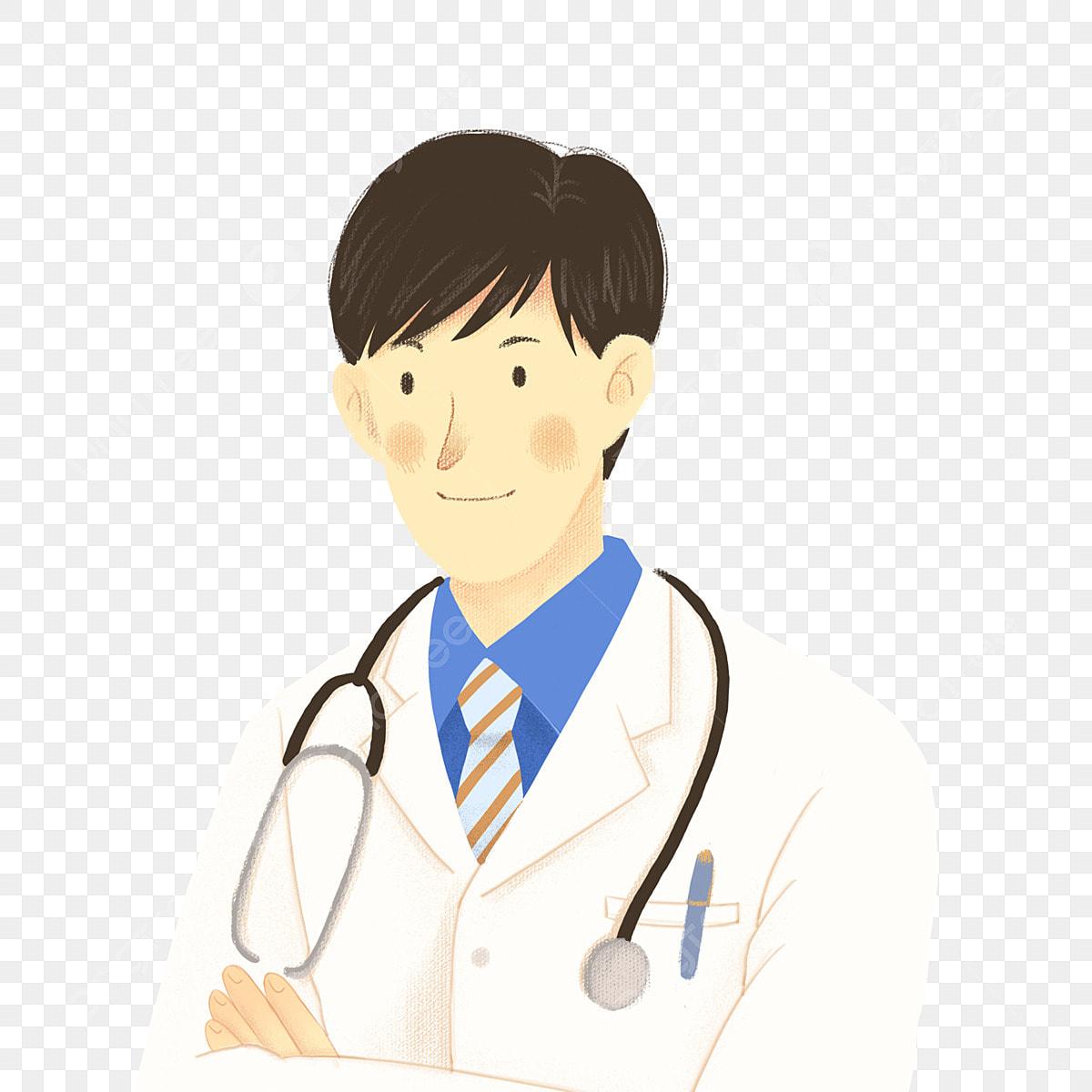 Element De Medecin De Sexe Masculin Beau Dessin Anime Clipart D Aide De La Communaute Medecins Dessin Anime Image Png Pour Le Telechargement Libre