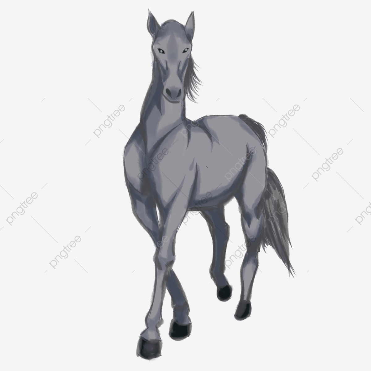 Cartoon Horse Cartoon Animal Illustration Brown Horse Running Horse Horse Clipart Running Horse Race Png Transparent Clipart Image And Psd File For Free Download