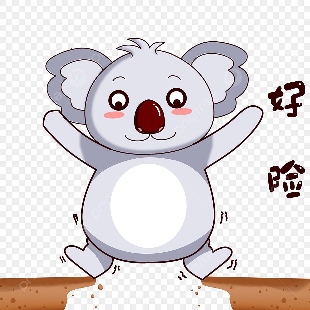 Koala De Bande Dessinée Dessin Animé Animal De Bande ...