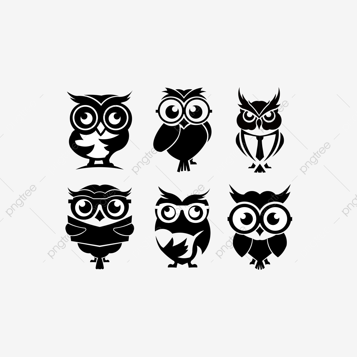 Cartoon Owl Inspiration Owl Vector Animal Baby Background Png