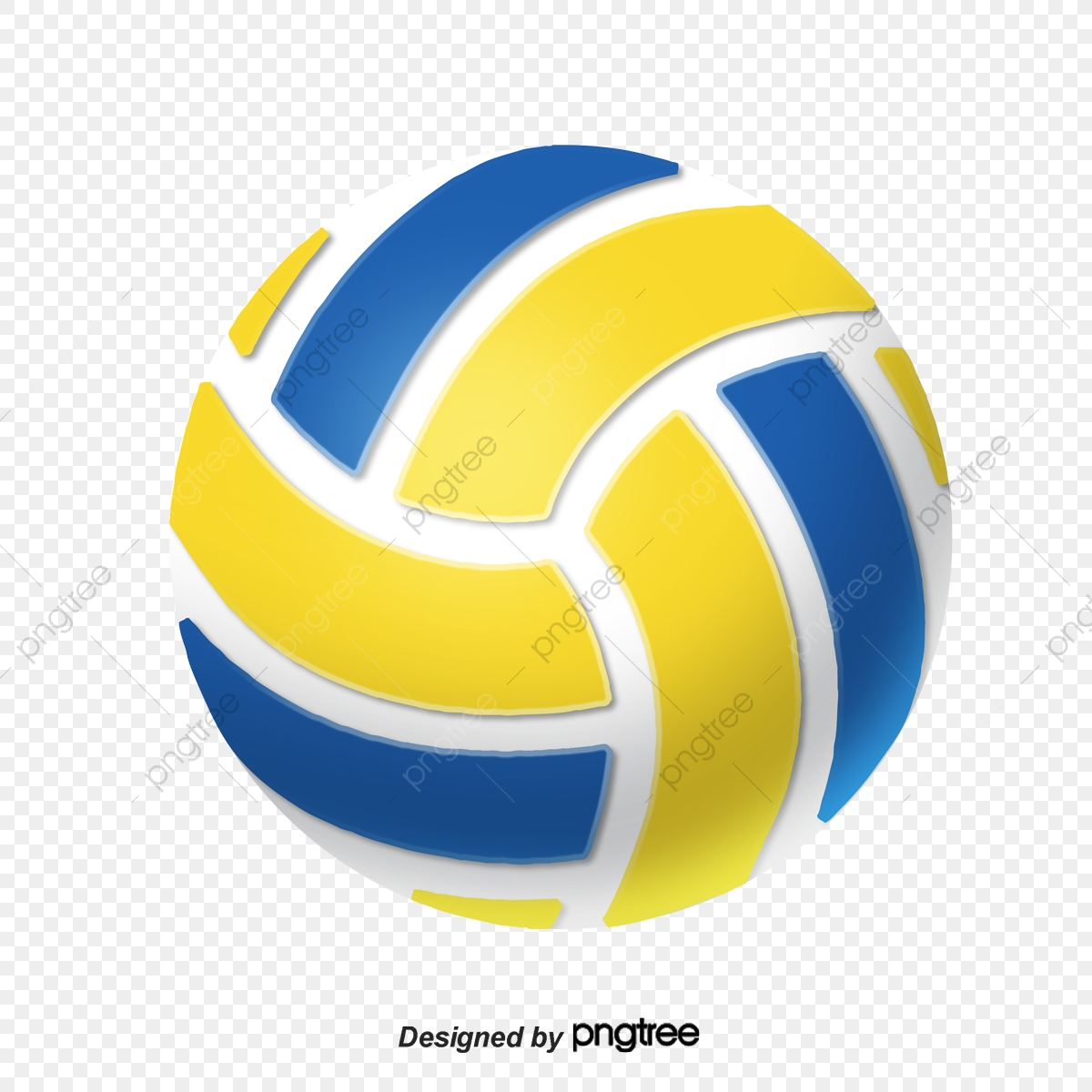 Cartoon Realistic Volleyball Sports Realism Cartoon Png Transparent Clipart Image And Psd File For Free Download