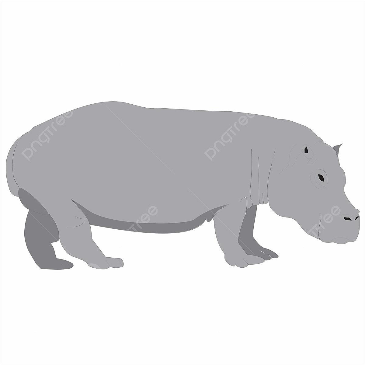 Cartoon Rhino Material Design, Rhinoceros, Comics, Murals