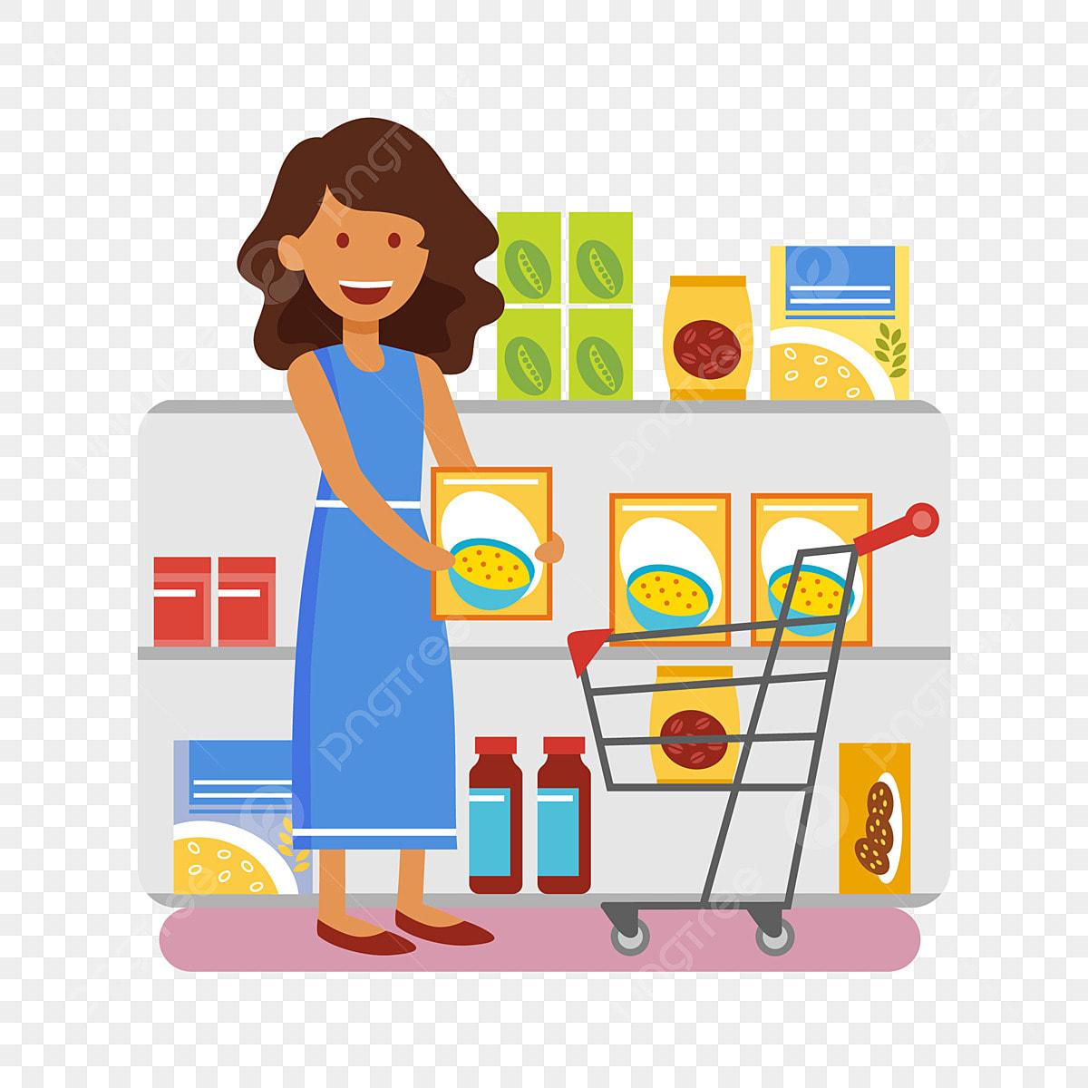 dessin anim u00e9 supermarch u00e9 centre commercial magasin