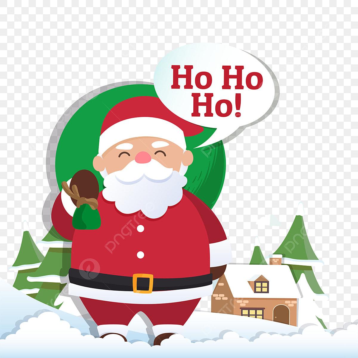Frohe Weihnachten Kostenlose Bilder.Weihnachten Hintergrund Mit Santa Claus Und Frohe