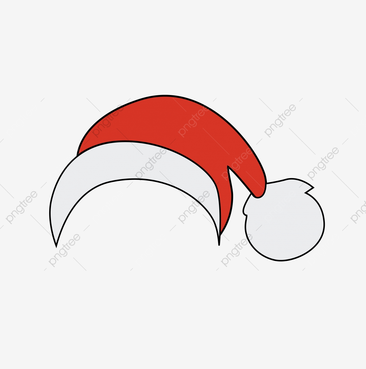 Christmas Hat Drawing Png.Christmas Red Cartoon Hat For Commercial Use Christmas