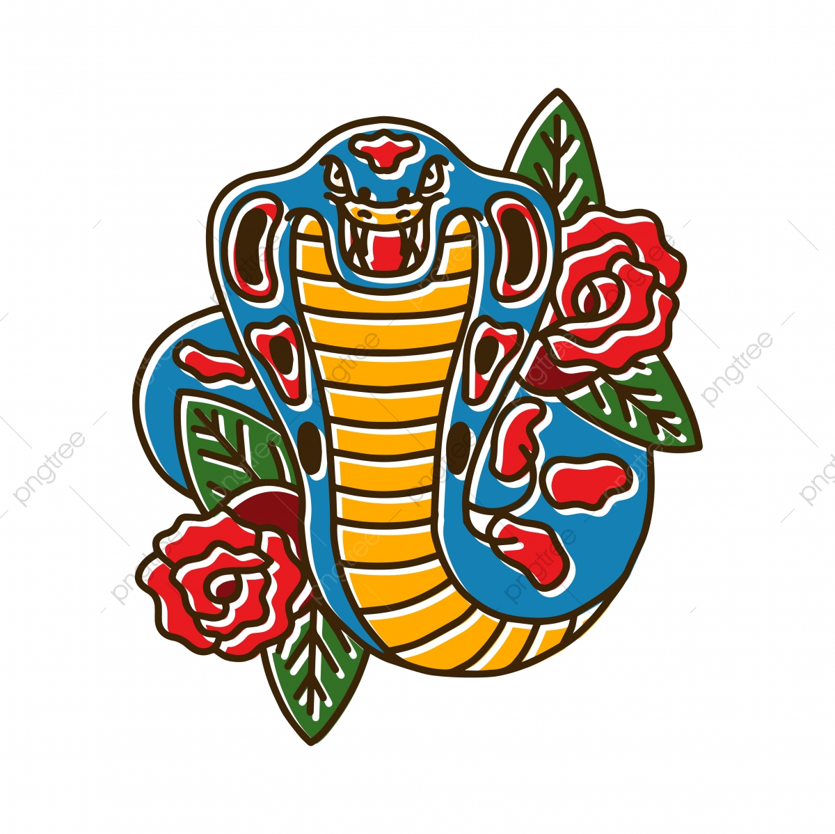 cobra png vector psd and clipart with transparent background for free download pngtree https pngtree com freepng cobra snake with rose 4052614 html