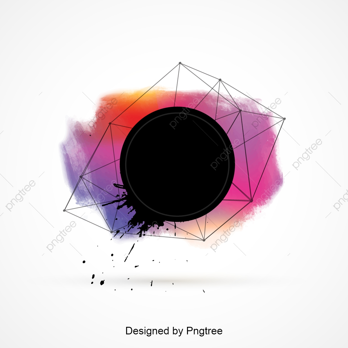 Color Abstract Background Design Background Colorful